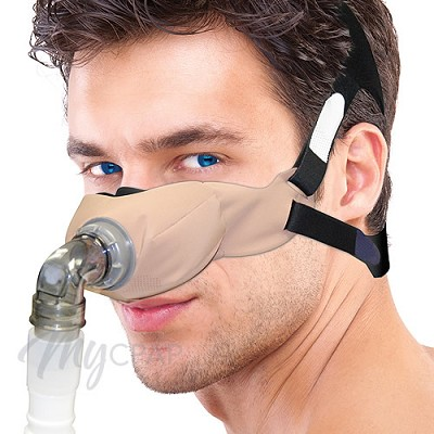 SleepWeaver Elan Nasal CPAP Mask with Headgear - Starter Kit