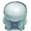 TrueBlue Nasal CPAP Mask Headgear