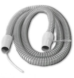 Flexible 6-foot CPAP/BiPAP Hose with Internal Pressure Line