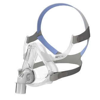 Small ResMed AirFit F10 Full Face CPAP Mask with Headgear