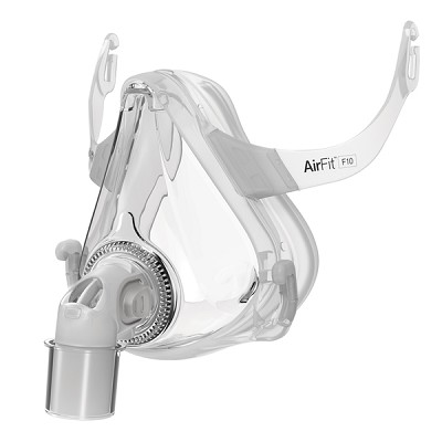 Small ResMed AirFit™ F10 Full Face Mask Frame System (No Headgear)