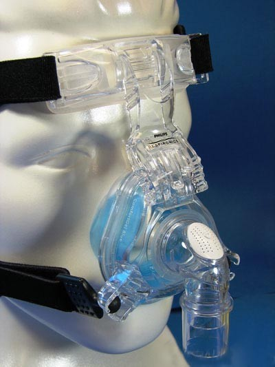 Large ComfortGel Blue Nasal Mask with Headgear
