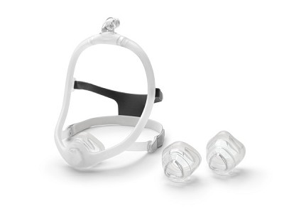Respironics DreamWisp Nasal CPAP Mask System FitPack with Headgear