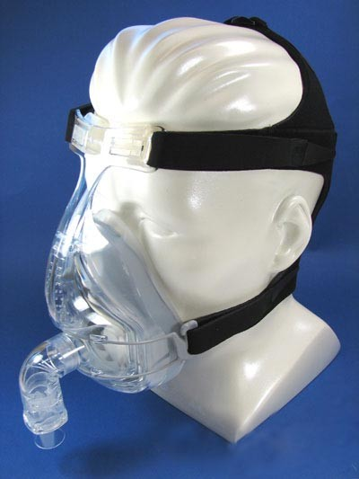 Small Fisher Paykel Forma Full Face CPAP Mask with Headgear