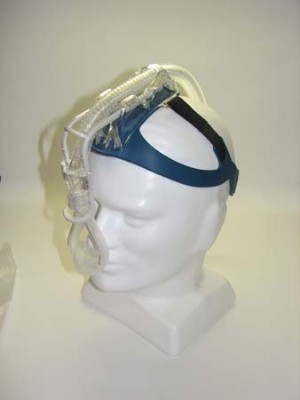 Aeiomed Headrest with Nasal Seal & Headgear