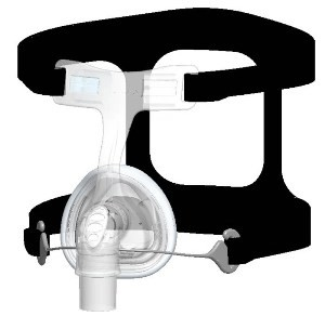 Fisher Paykel FlexiFit 406 Petite Nasal CPAP Mask with Headgear