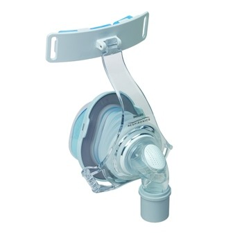 Phillips Respironics TrueBlue Gel Nasal CPAP Mask with Headgear