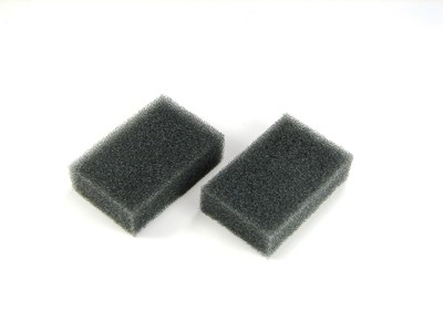 Reuseable Grey Foam Filters for Covidien Sandman Intro, Info, and Auto CPAP Machines (Pack of 2)