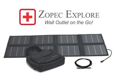 Zopec Foldable Solar Battery Charger