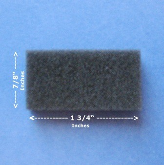 Foam Filters for the M-Series / System One / SleepEasy CPAP and BiPAP machines.