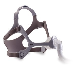 Philips Respironics Wisp Nasal Mask with fabric Frame, Headgear, and Magnetic Headgear Clips