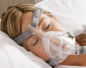 Small Fisher Paykel Simplus Full Face CPAP Mask with Headgear