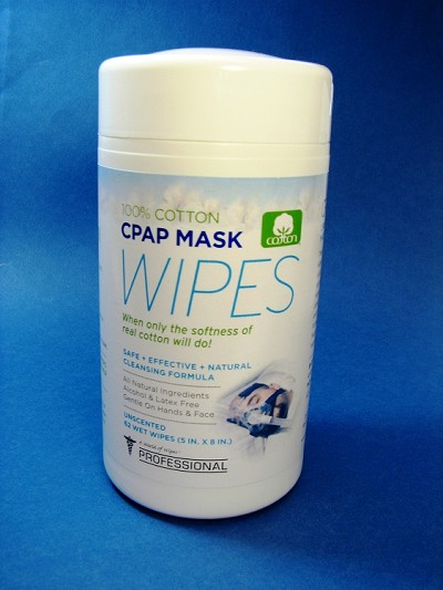 A World of Wipes Unscented Professional CPAP Wipes - 62 wipes/can